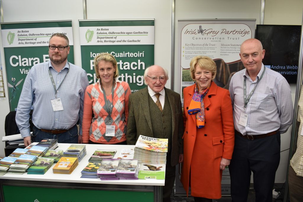 President-Michael-D-Higgins-visits-the-grey-partridge-stand-at-the-National-Ploughing-Championships